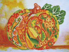 Diamond Dotz Autumn Pumpkin Amber Sparkle