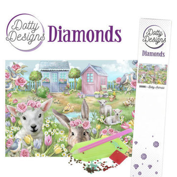 Dotty Designs Diamonds Baby Animals