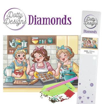 Dotty Designs Diamonds Bubbly Girls Kitchen