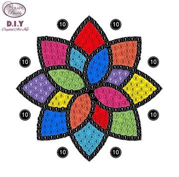 Crystal Art Motif Kit stickers   Mandala