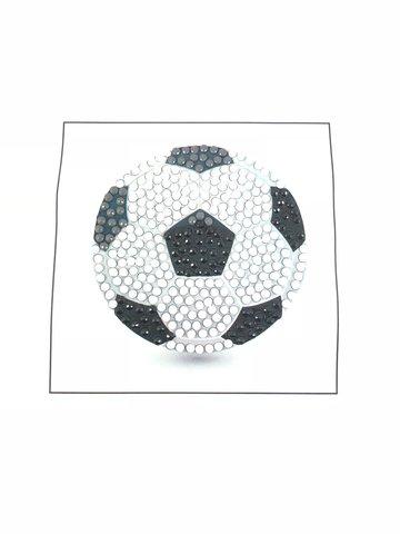 Crystal Art Motif Kit stickers   Football