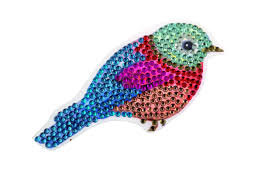 Crystal Art Motif Kit stickers   Bird