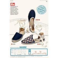 Prym Instructievideos en knippatronen voor espadrilles 'Sandale'
