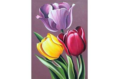 Wizardi Diamond Painting Kit Tulip Aroma WD021