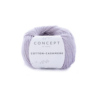 Katia Cotton Cashmere kleur 68 Licht Medium Paars