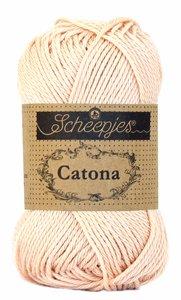 Scheepjes Catona kleur 263 Petal Peach