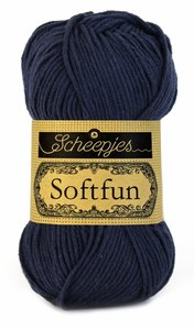 Scheepjes SoftFun kleur 2401 donker blauw