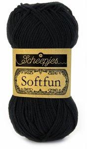 Scheepjes SoftFun kleur 2408 zwart