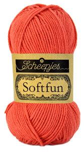 Scheepjes SoftFun kleur 2449 Koraaloranje