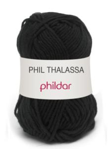 Phildar Thalassa kleur 0067 Noir