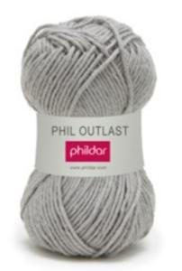 Phildar Phil Outlast kleur 0001 Vapeur