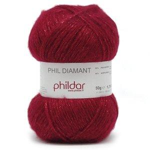 Phildar Phil Diamant kleur 0005 Rubis