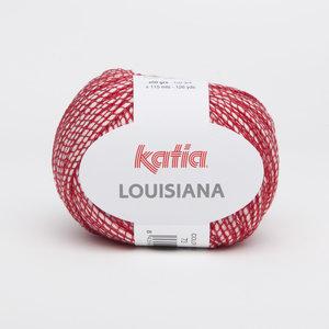 Katia Louisiana kleur 73 Rood