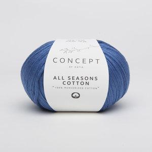 Katia All Seasons Cotton kleur 19 Blauw