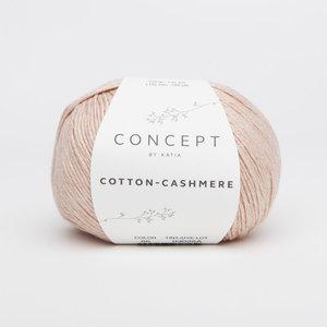 Katia Cotton Cashmere kleur 66 Zalm oranje