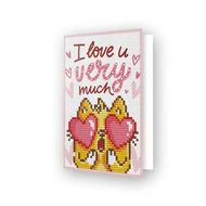 Diamond Dotz kaart Love You