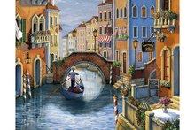 Wizardi Diamond Painting Kit Venice Romance WD2484