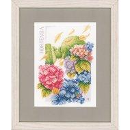 Lanarte PN-0146539 Hortensias Weelde 20 x 27,5 cm