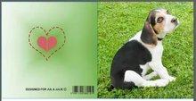 Jul And Julie Kit | Diamond painting Hond Gevlekt
