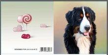 Jul And Julie Kit   Diamond painting Hond Zwart