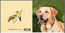 Jul And Julie Kit   Diamond painting Hond Licht Bruin