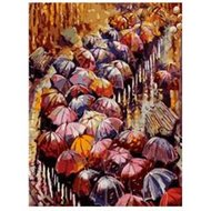 Protsvetnoy Paint by Numbers | Autumn Umbrellas - MG2116E