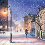 Protsvetnoy Paint by Numbers | Evening Snowstorm - MG2079E