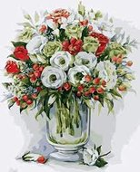Protsvetnoy Paint by Numbers | Bouquet with red Berries - MG2103E