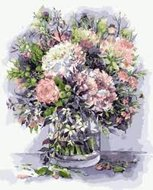 Protsvetnoy Paint by Numbers | Bouquet with peonies and herbs - MG2061E