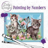 Dotty Designs Paint by Numbers | Cats- DDP1006