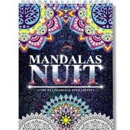Colorya Kleuren voor Volwassenen   Nacht Mandalas - Z - COL1002