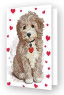 Diamond Dotz kaart Lovely Boy