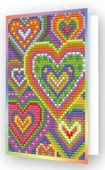 Diamond Dotz kaart Heart Mosaic