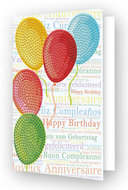 Diamond Dotz kaart Balloons on High