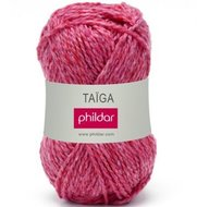 Phildar Taïga kleur 108 Fuchsia